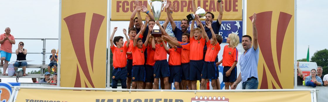 FC Barcelone podium 2017